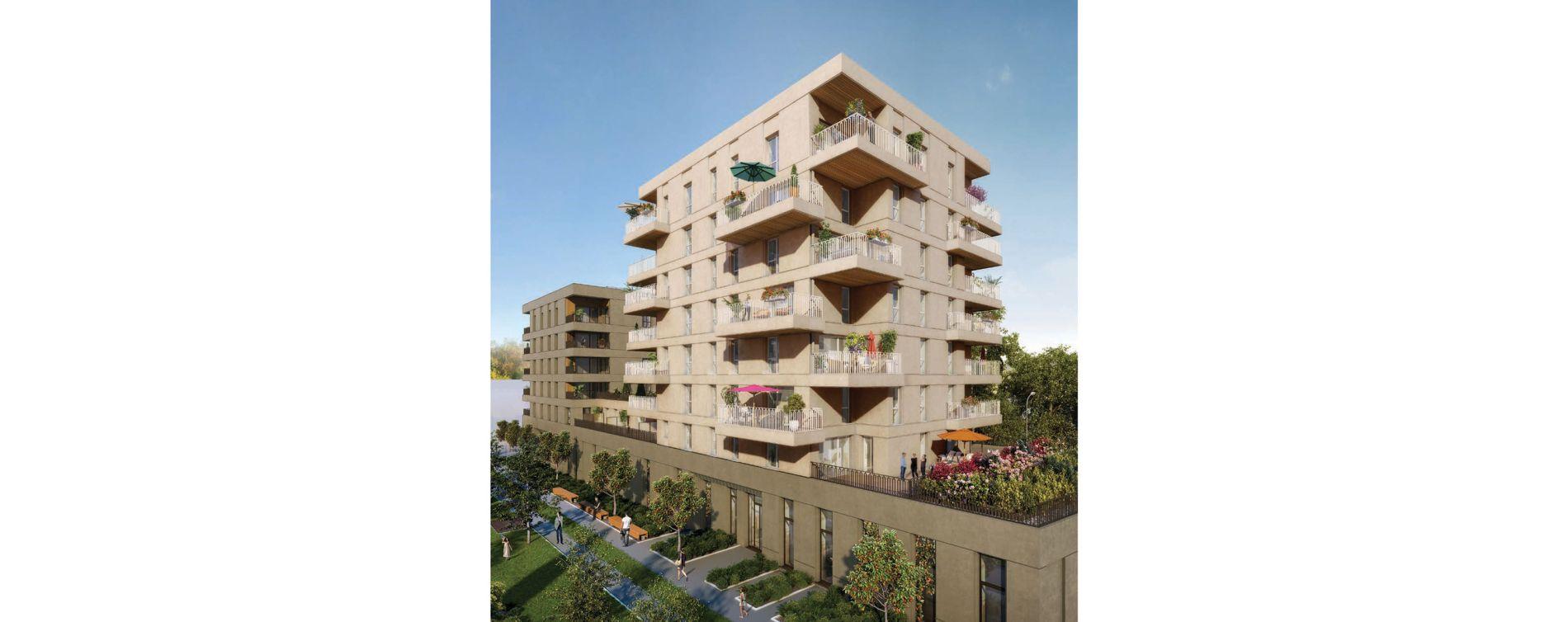Villeurbanne : programme immobilier neuve « Crescendo » (3)
