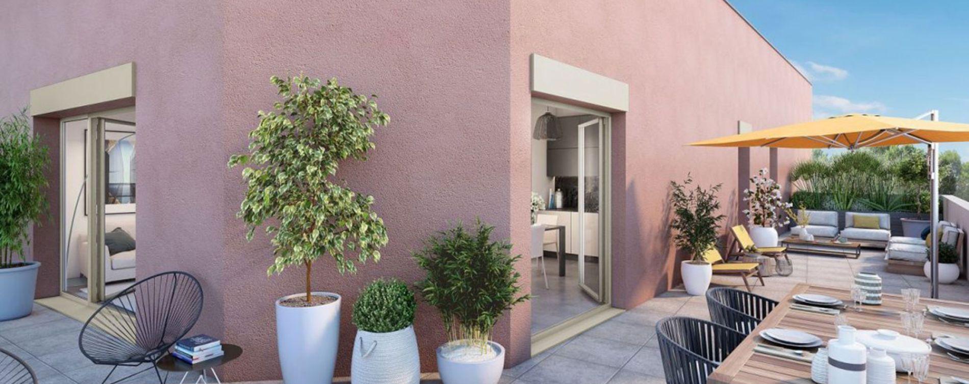 Villeurbanne : programme immobilier neuve « Déclic » en Loi Pinel (2)