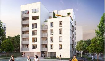 Photo du Résidence « Etincelle » programme immobilier neuf à Villeurbanne