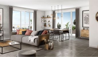 Résidence « Idylle En Ville » programme immobilier neuf en Loi Pinel à Villeurbanne n°3