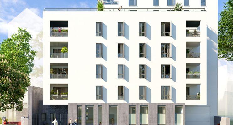 Villeurbanne : programme immobilier neuf « Le Clos Lafayette » en Loi Pinel