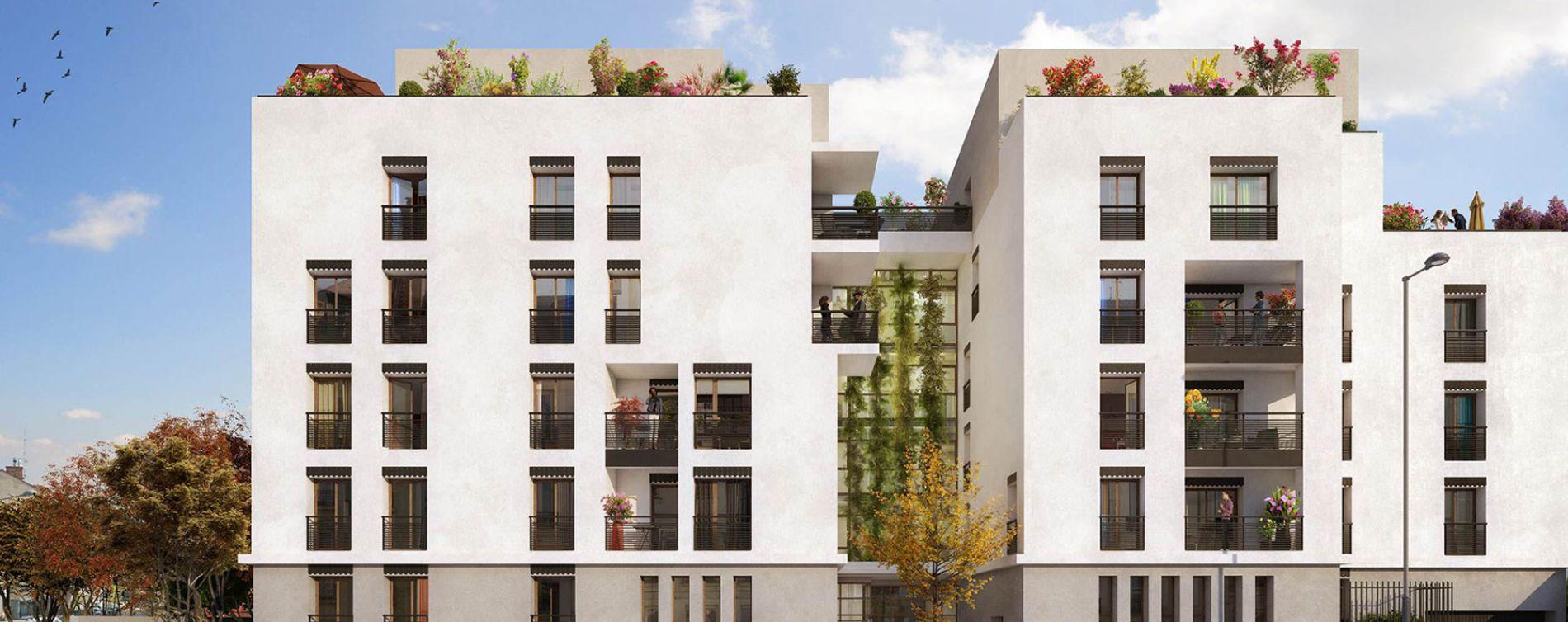 Villeurbanne : programme immobilier neuve « Programme immobilier n°219158 » en Loi Pinel