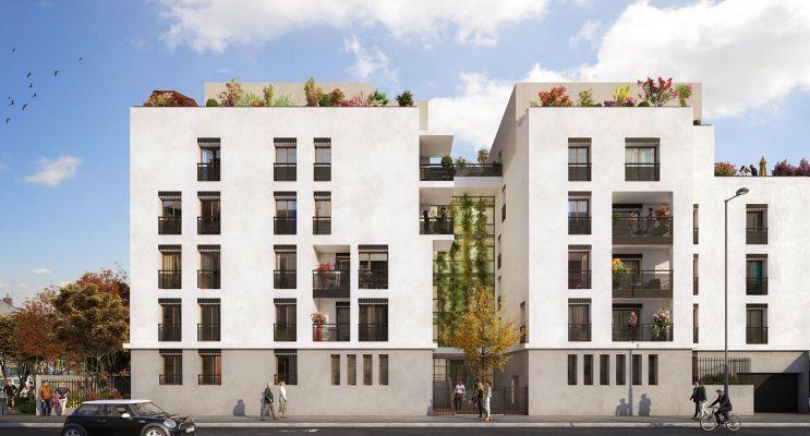 Villeurbanne : programme immobilier neuf «  n°219158 » en Loi Pinel