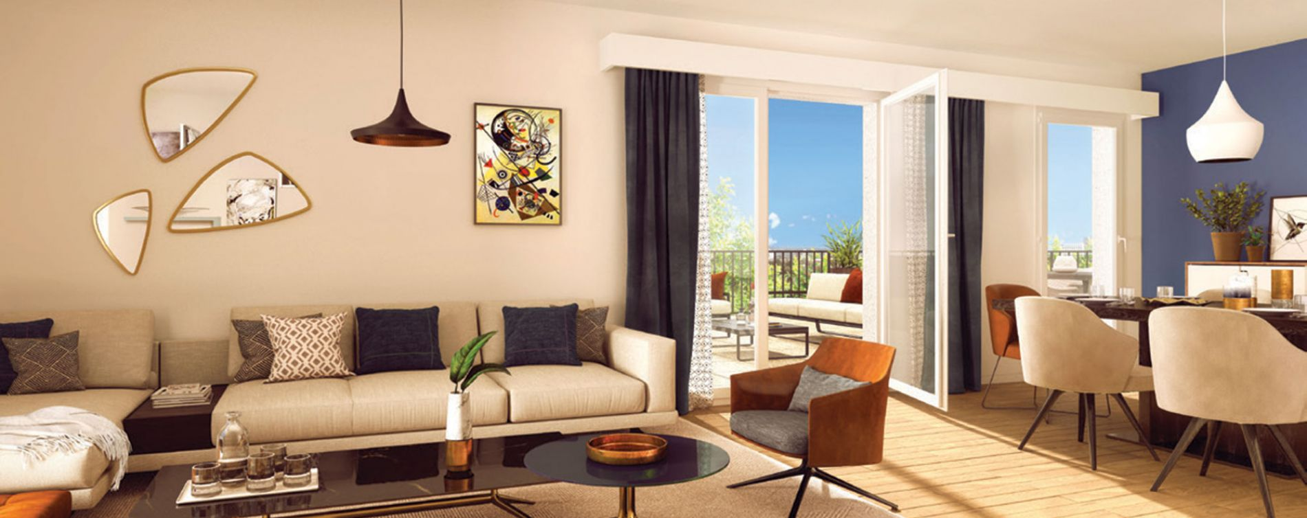 Villeurbanne : programme immobilier neuve « L'Îlot Charmes » en Loi Pinel (3)