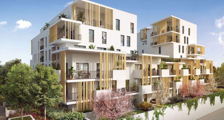 Photo du Résidence « L'Îlot Charmes » programme immobilier neuf en Loi Pinel à Villeurbanne
