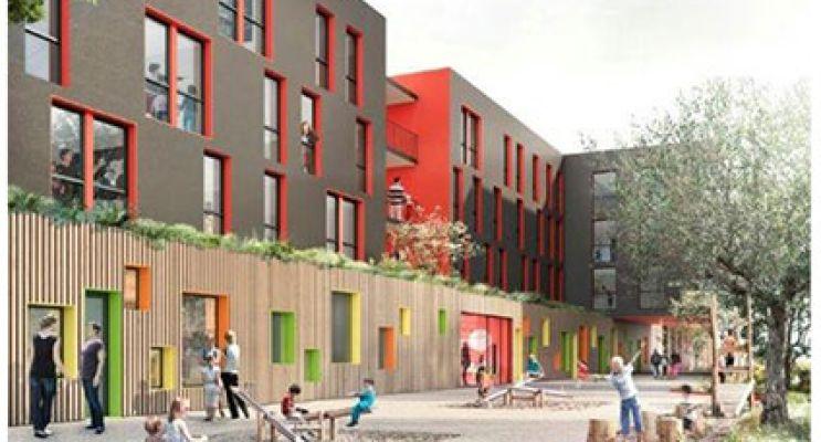 Photo n°1 du Résidence « L'Olivier » programme immobilier neuf en Loi Pinel à Villeurbanne