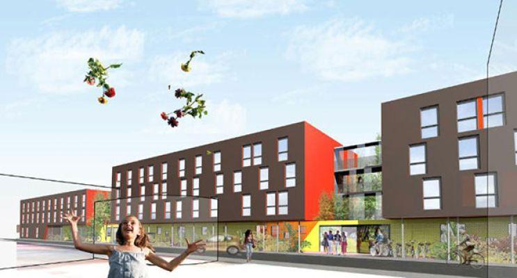 Photo n°2 du Résidence « L'Olivier » programme immobilier neuf en Loi Pinel à Villeurbanne