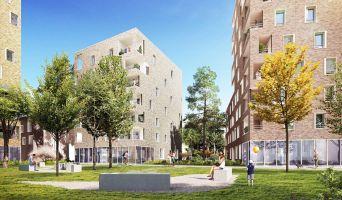 Villeurbanne programme immobilier neuve « N.O.U : Nouvel Opus Urbain » en Loi Pinel  (2)