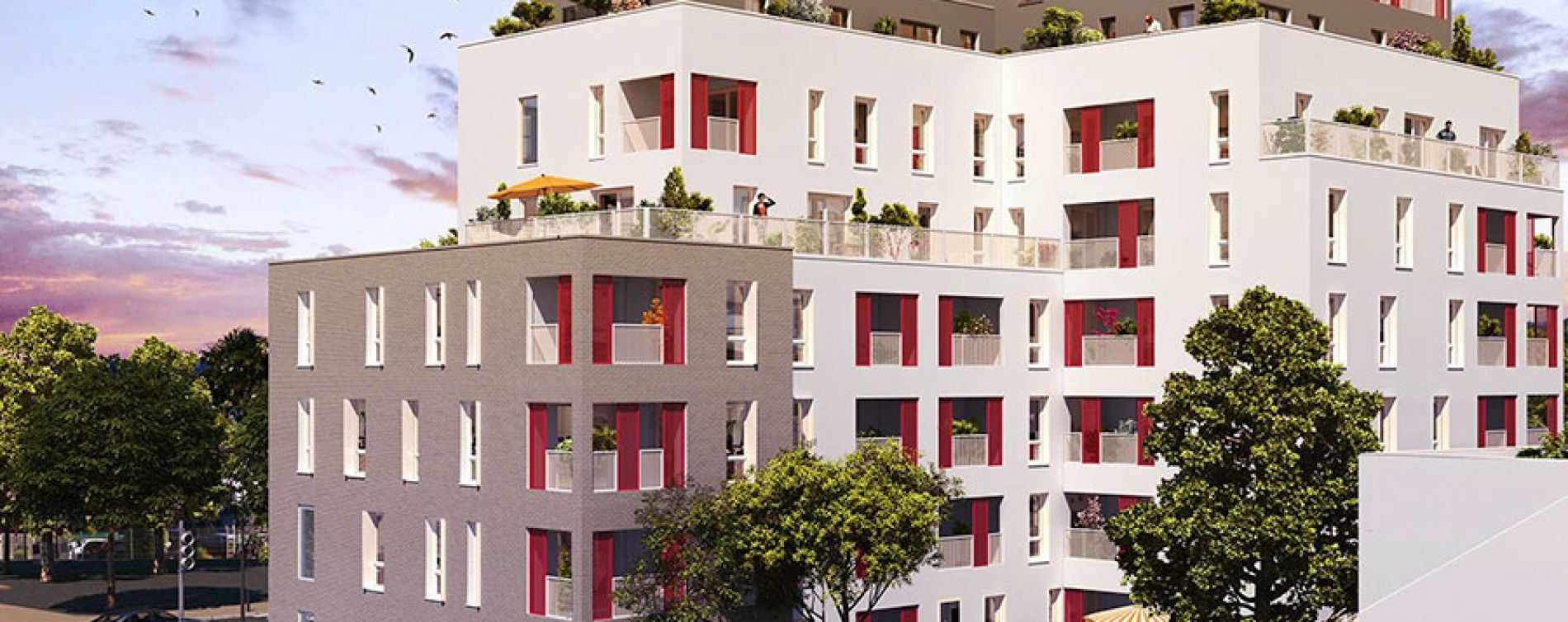 Villeurbanne : programme immobilier neuve « Octavie »