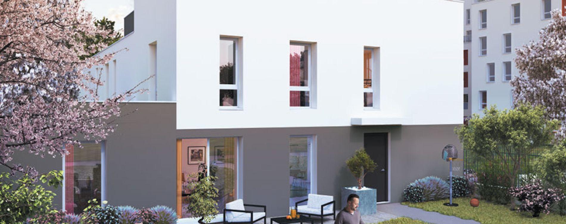 Villeurbanne : programme immobilier neuve « Octavie » (2)