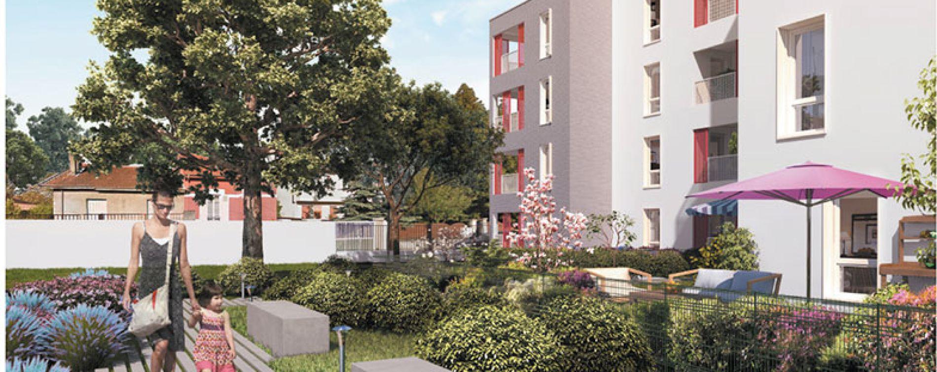 Villeurbanne : programme immobilier neuve « Octavie » (3)