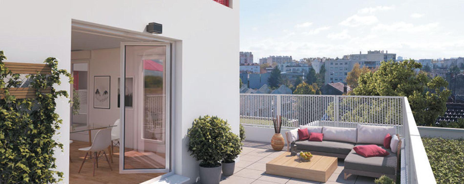 Villeurbanne : programme immobilier neuve « Octavie » (4)