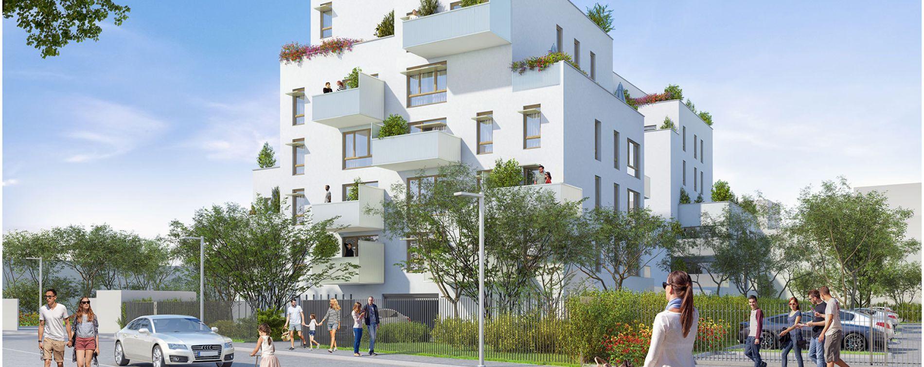 Villeurbanne : programme immobilier neuve « Parallèles » en Loi Pinel (2)