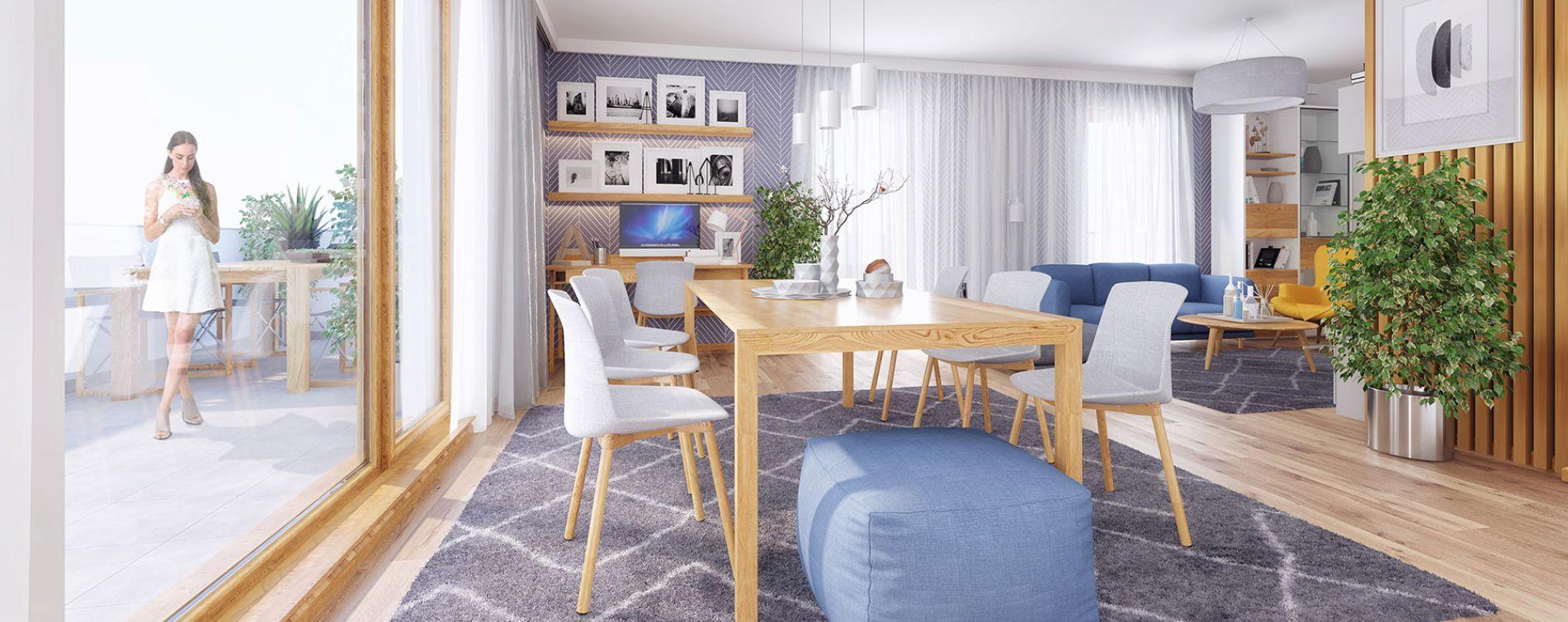 Villeurbanne : programme immobilier neuve « Parallèles » en Loi Pinel (3)