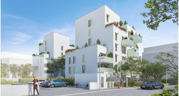 Villeurbanne programme immobilier neuf « Parallèles » en Loi Pinel
