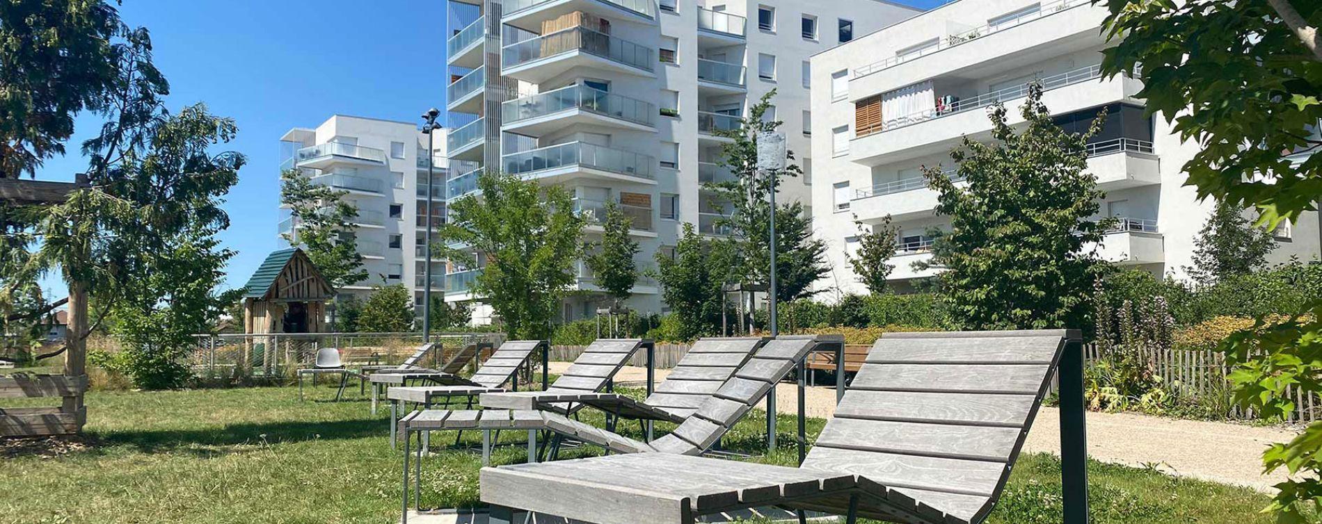 Villeurbanne : programme immobilier neuve « Partition » en Loi Pinel