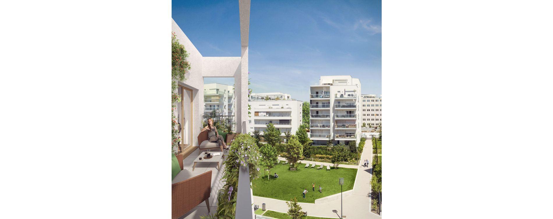 Villeurbanne : programme immobilier neuve « Partition » en Loi Pinel (2)