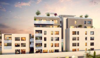 Villeurbanne programme immobilier neuve « Rouss'Ô » en Loi Pinel  (2)
