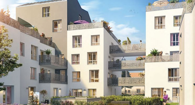 Résidence « Séquen'Ciel » programme immobilier neuf en Loi Pinel à Villeurbanne n°1