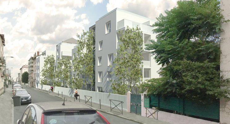 Résidence « Séquen'Ciel » programme immobilier neuf en Loi Pinel à Villeurbanne n°2