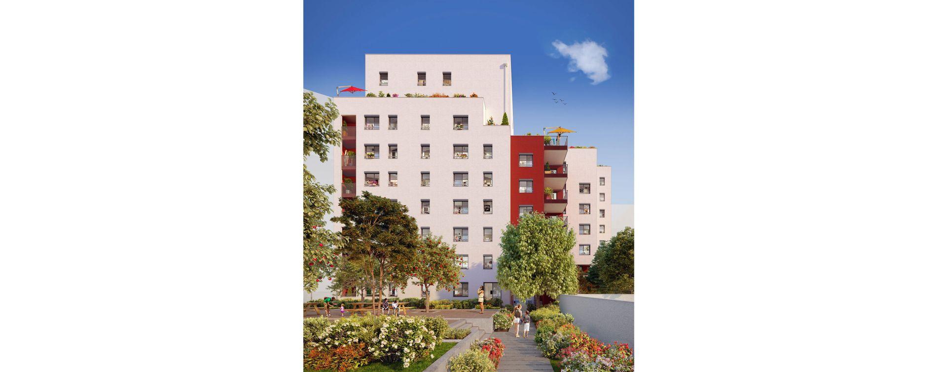 Villeurbanne : programme immobilier neuve « Square Verde » en Loi Pinel (3)
