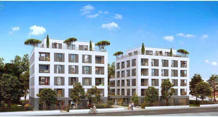 Photo du Résidence « SymétriK » programme immobilier neuf en Loi Pinel à Villeurbanne