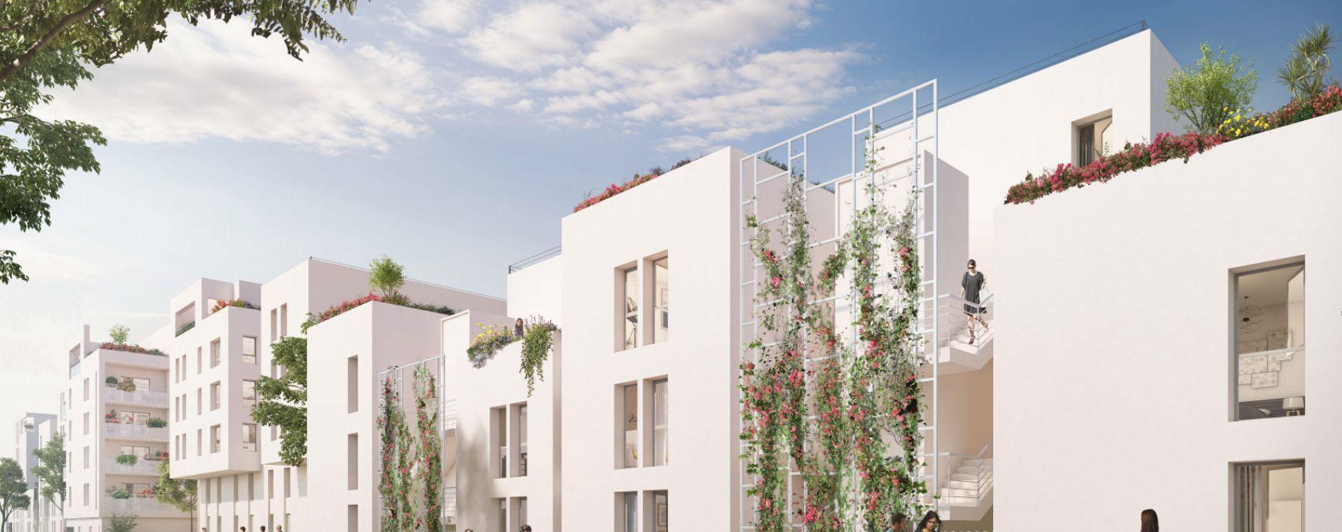 Villeurbanne : programme immobilier neuve « Tempo »