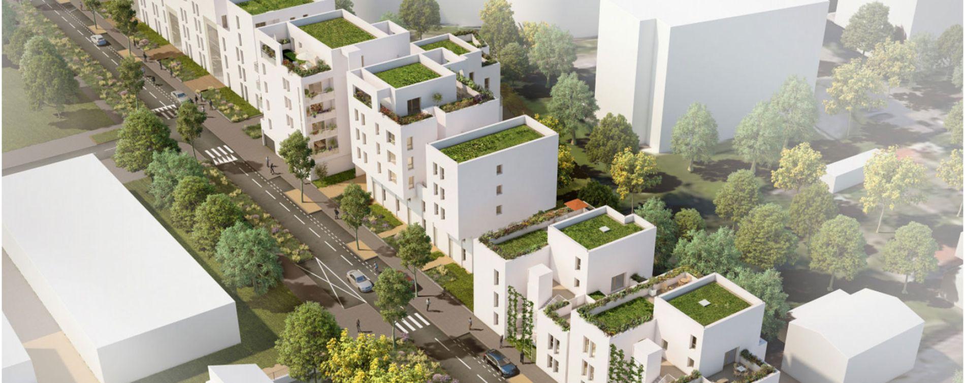Villeurbanne : programme immobilier neuve « Tempo » (5)