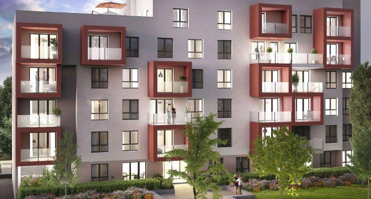 Photo du Résidence « Vill'à Soi » programme immobilier neuf en Loi Pinel à Villeurbanne