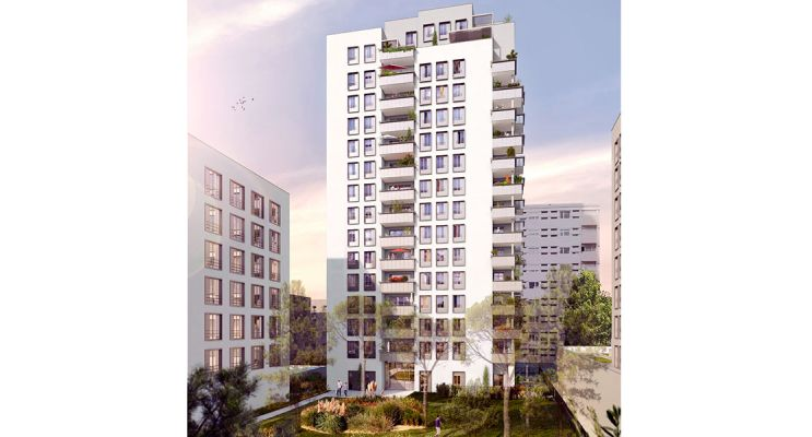 Photo du Résidence « Villenciel » programme immobilier neuf en Loi Pinel à Villeurbanne