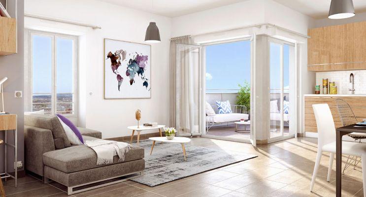 Résidence « Villenciel » programme immobilier neuf en Loi Pinel à Villeurbanne n°3