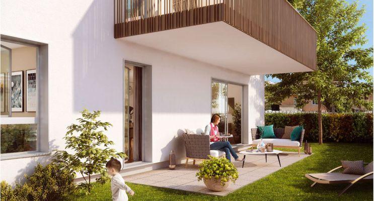 Résidence « Confidence Urbaine » programme immobilier neuf en Loi Pinel à Aix-les-Bains n°3