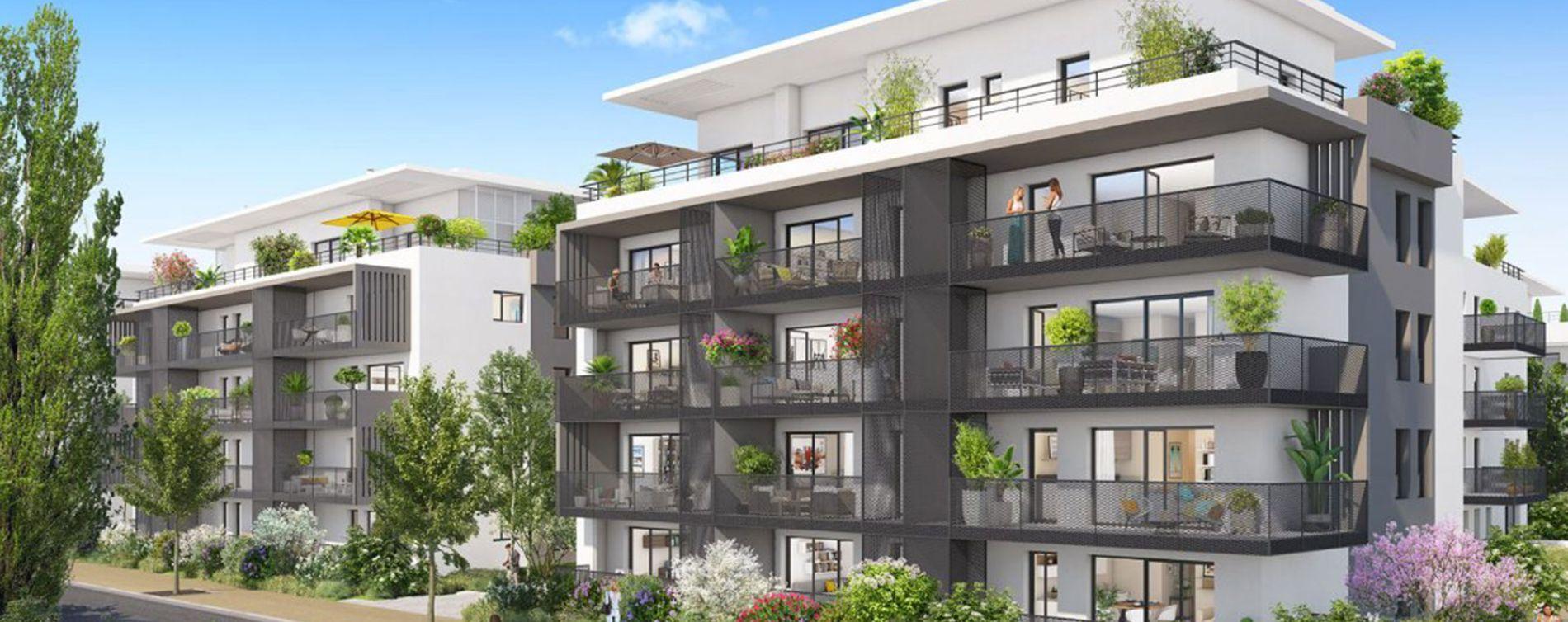Aix-les-Bains : programme immobilier neuve « Les Jardins de l'Hippodrome »