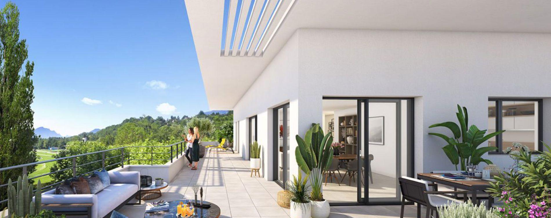 Aix-les-Bains : programme immobilier neuve « Les Jardins de l'Hippodrome » (3)