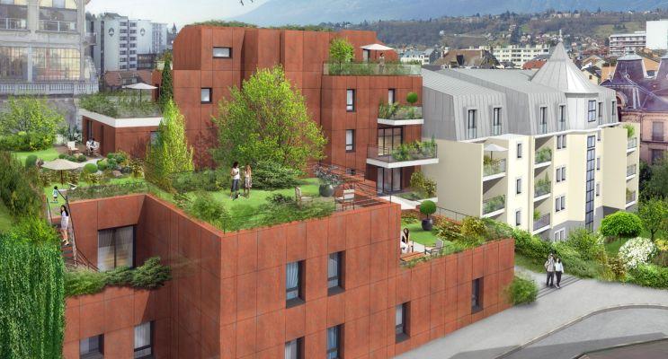 Photo du Résidence « Paris Kyoto Babylone » programme immobilier neuf en Loi Pinel à Aix-les-Bains