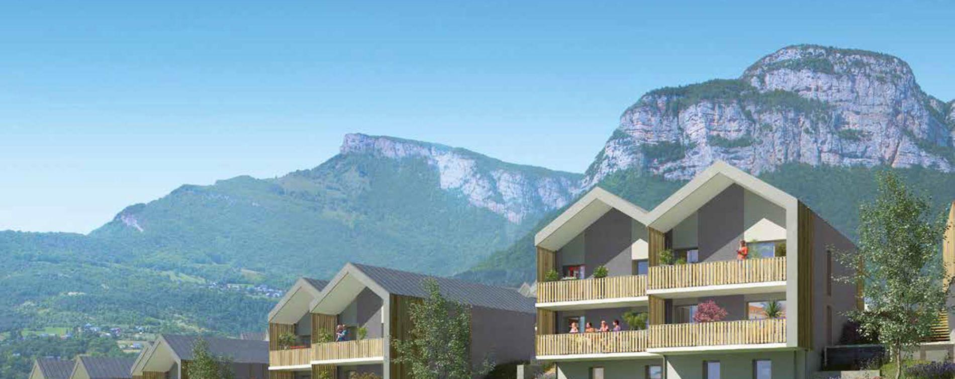 Barby : programme immobilier neuve « PANORAMA VILLAGE - Ilots C à G » en Loi Pinel (3)