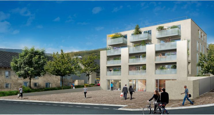 Photo du Résidence « Coeur de Saint Inn » programme immobilier neuf à Brison-Saint-Innocent