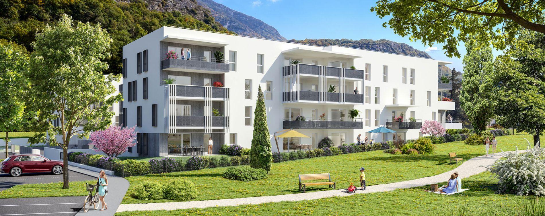 Challes-les-Eaux : programme immobilier neuve « Eloge du Château » en Loi Pinel