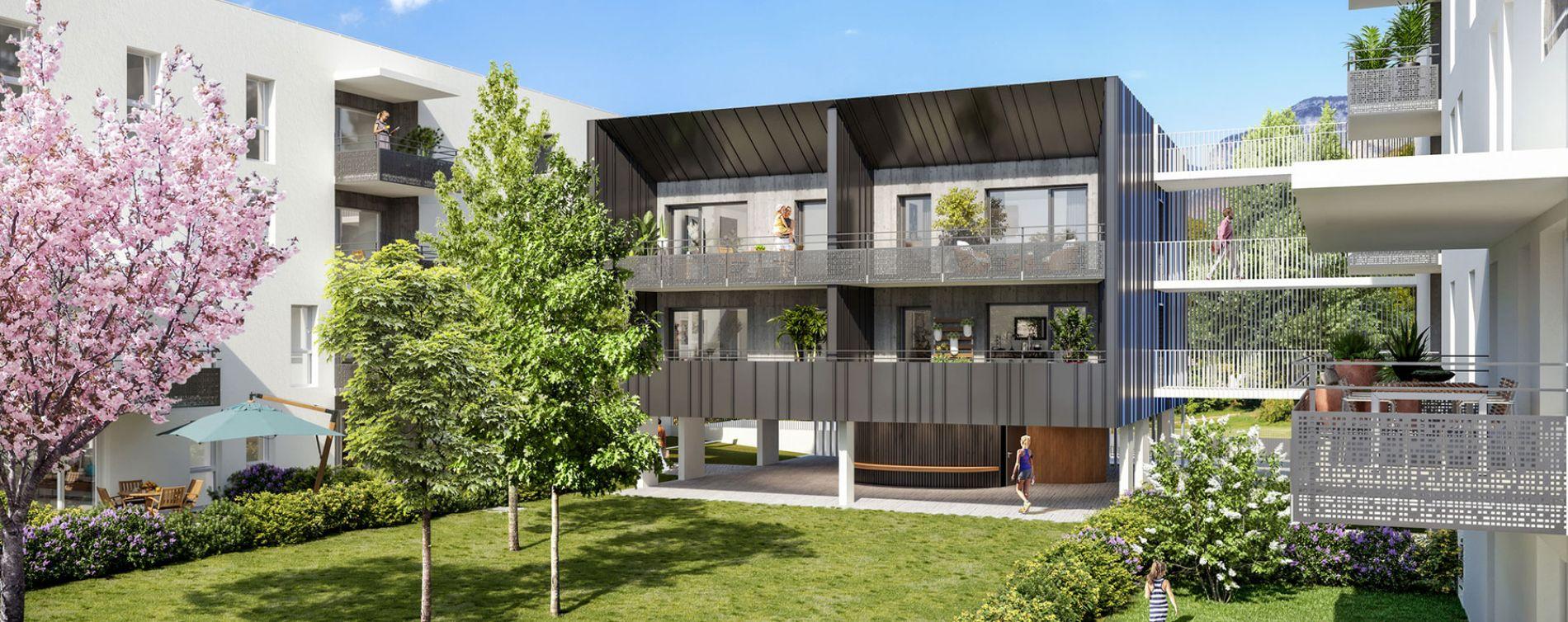 Challes-les-Eaux : programme immobilier neuve « Eloge du Château » en Loi Pinel (2)