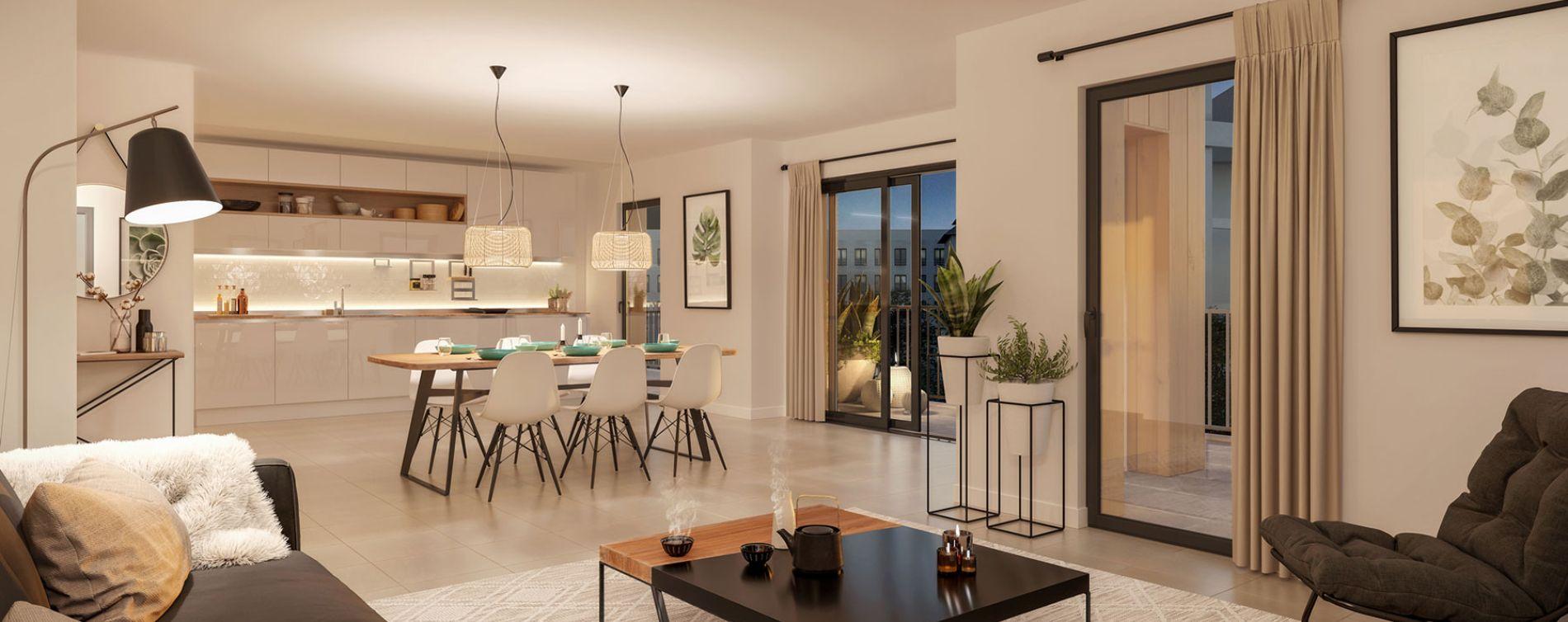 Chambéry : programme immobilier neuve « Héritage » en Loi Pinel (4)