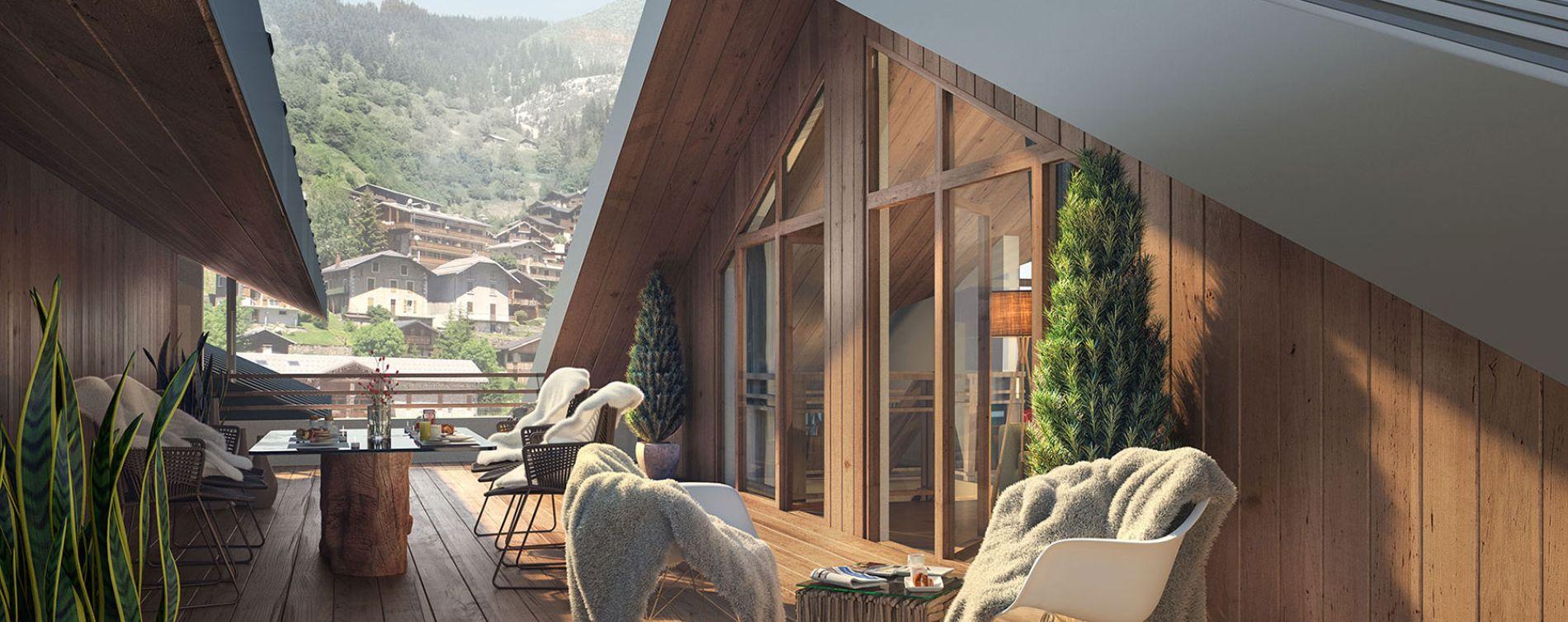 Résidence Les Terrasses de La Vanoise à Champagny-en-Vanoise