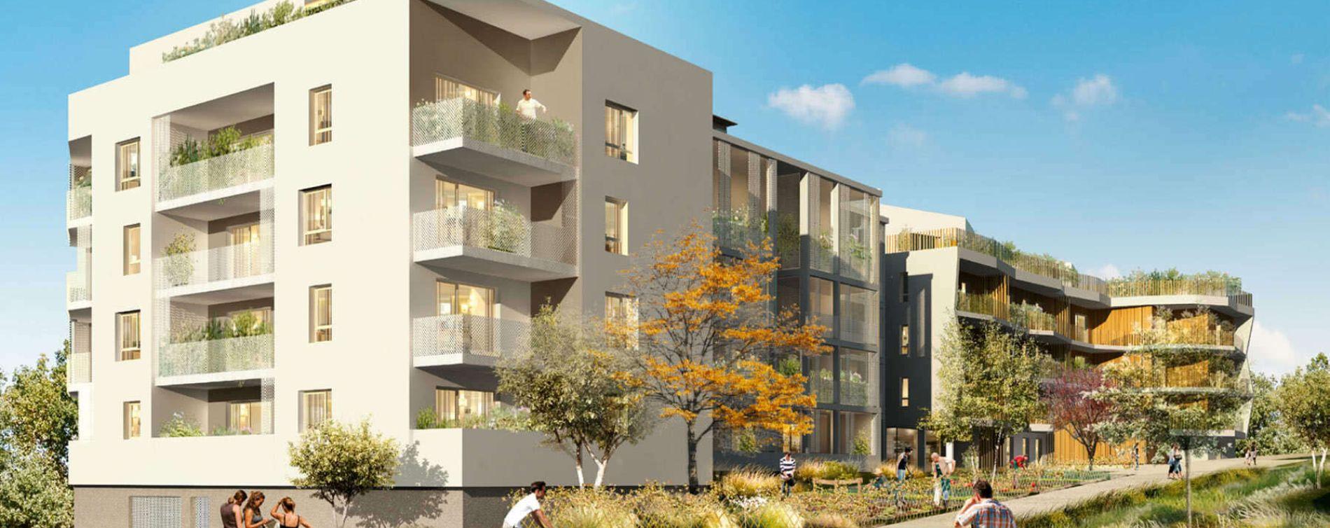 Cognin : programme immobilier neuve « Le Colys »