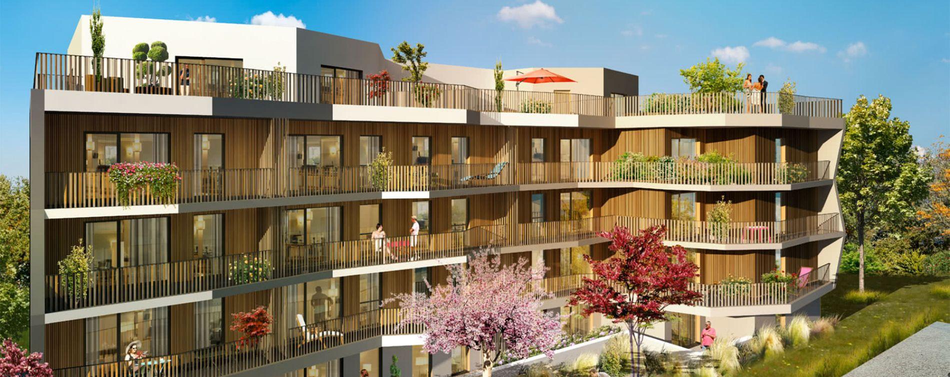 Cognin : programme immobilier neuve « Le Colys » (2)