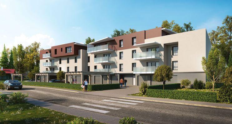 Photo du Résidence « Confidence » programme immobilier neuf en Loi Pinel à Gilly-sur-Isère