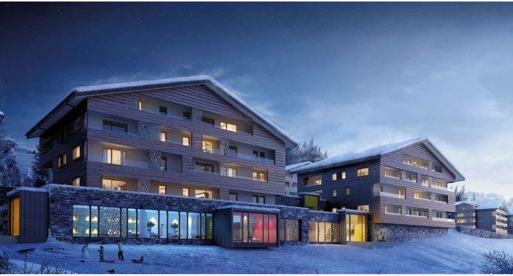 Photo n°2 du Résidence « Les Chalets Des Cimes » programme immobilier neuf à Hauteluce