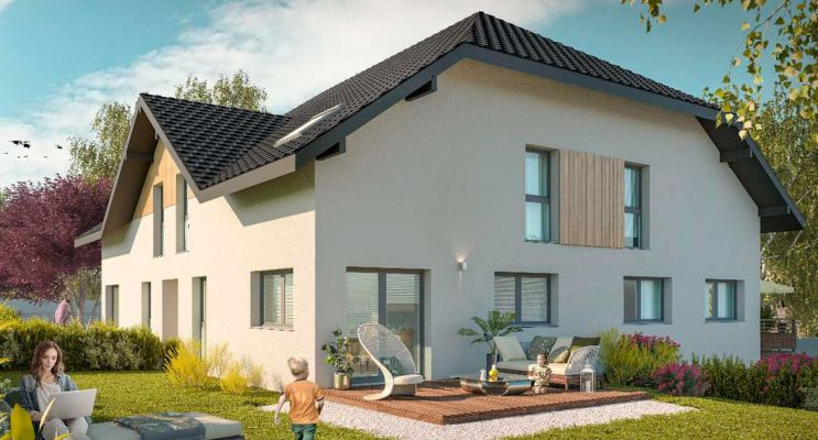 Photo du Résidence « Les Carrés Azur » programme immobilier neuf en Loi Pinel à La Motte-Servolex