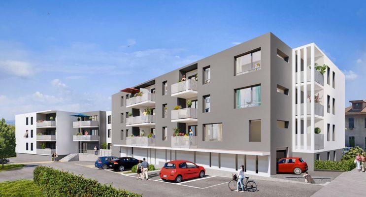 Photo du Résidence « Rive Ô Coeur » programme immobilier neuf à Le Bourget-du-Lac