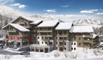 Photo du Résidence « L'Ecrin d'Argent » programme immobilier neuf à Les Avanchers-Valmorel