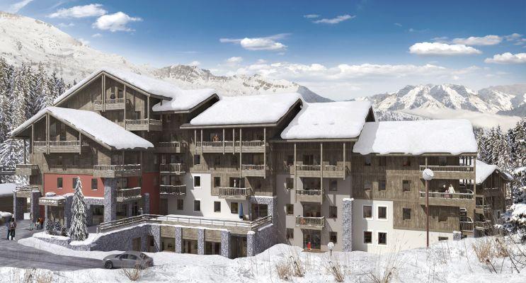 Les Avanchers-Valmorel : programme immobilier neuf « L'Ecrin d'Argent »