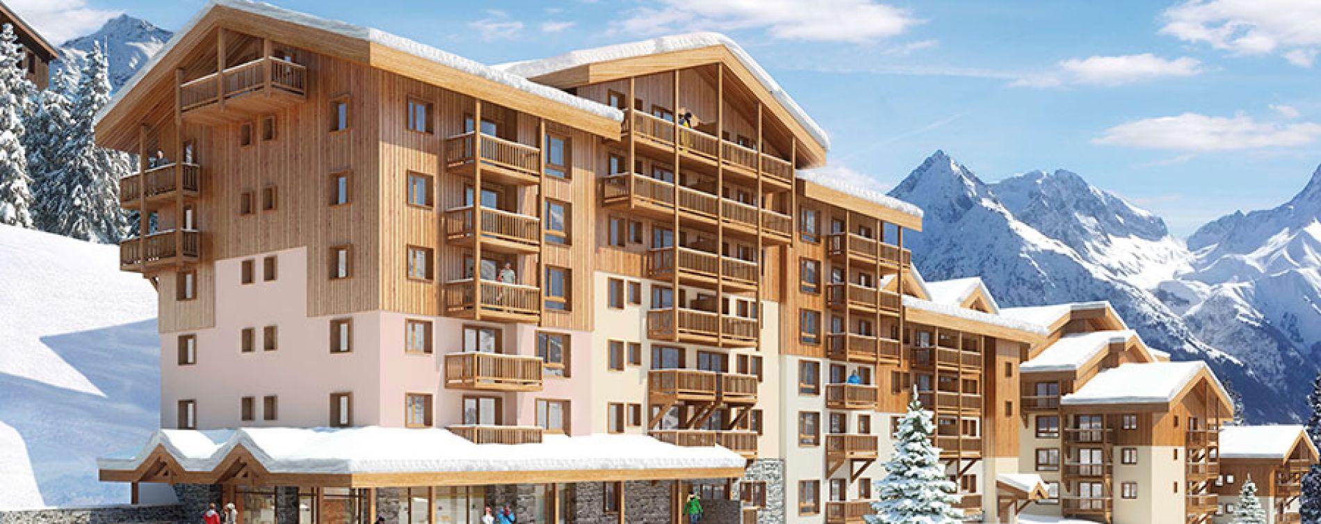 Mâcot-la-Plagne : programme immobilier neuve « Front de Neige »